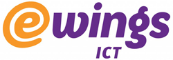 Logo e-Wings ICT B.V.